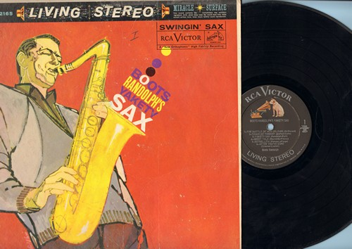 Randolph, Boots - Boots Randolph's Yakety Sax: The Battle Of New Orleans, Teach Me Tonight, Sleep Walk, Temptation (Vinyl STEREO LP record) - VG7/VG7 - LP Records