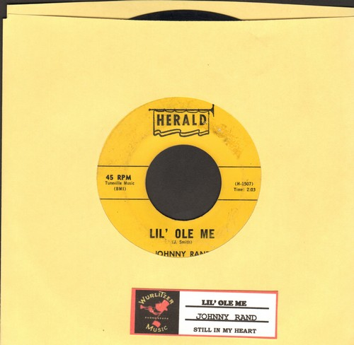 Rand, Johnny - Lil' Ole Me/Still In My Heart (with juke box label) - VG7/ - 45 rpm Records
