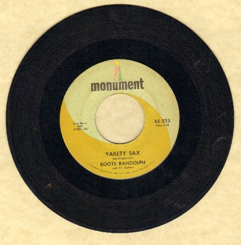 Randolph, Boots - Yakety Sax/I Really Don't Want To Know - VG7/ - 45 rpm Records