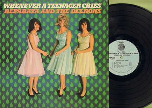 Reparata & The Delrons - Whenever A Teenager Cries: Do Wah Diddy, Bye Bye Baby, Dedicated To The One I Love, I Have A Boyfriend (Vinyl MONO LP record) - EX8/EX8 - LP Records