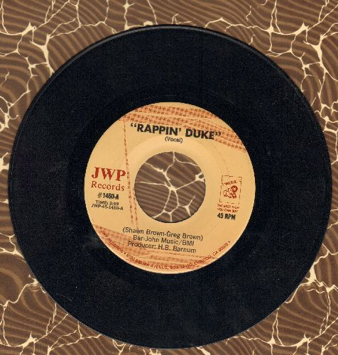 Rappin' Duke - Rappin' Duke (Vocal)/Rappin' Duke (Instrumental) - EX8/ - 45 rpm Records