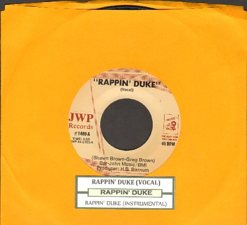 Rappin' Duke - Rappin' Duke (Vocal)/Rappin' Duke (Instrumental)(with juke box label) - NM9/ - 45 rpm Records