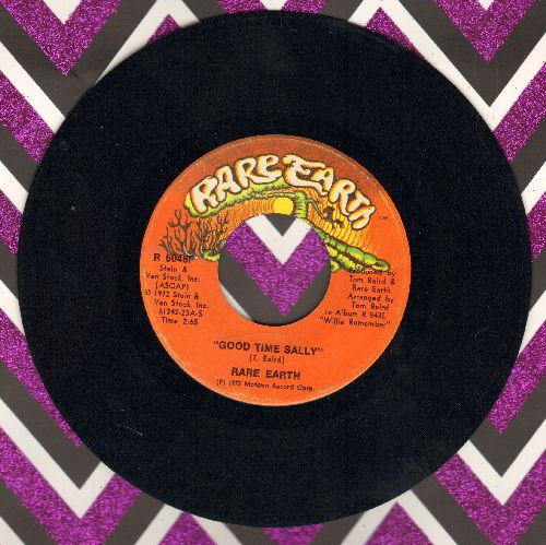 Rare Earth - Good Time Sally/Love Shines Down - NM9/ - 45 rpm Records