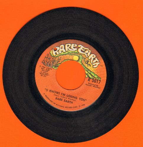 Rare Earth - (I Know) I'm Losing You/When Joanie Smiles (bb) - EX8/ - 45 rpm Records