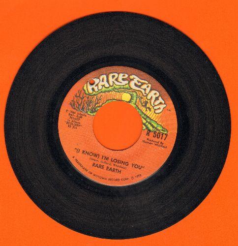 Rare Earth - (I Know) I'm Losing You/When Joanie Smiles (bb) - EX8/ - 45 rpm Records