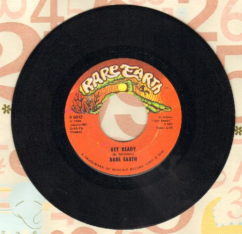 Rare Earth - Get Ready/Magic Key - EX8/ - 45 rpm Records