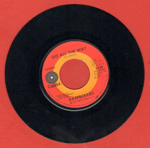 Raspberries - Go All The Way/With You In My Life - VG6/ - 45 rpm Records