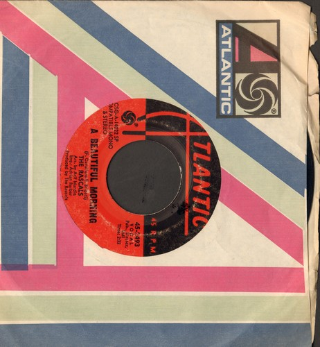 Rascals - A Beautiful Morning/Rainy Day (with Atlantic company sleeve) - VG7/ - 45 rpm Records