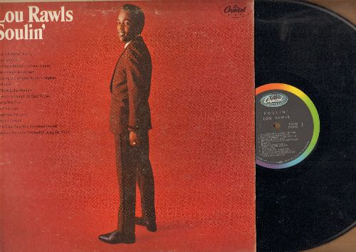 Rawls, Lou - Soulin': A Whole Lotta Woman, What Now My Love, You're The One, It Was A Very Good Year (vinyl MONO LP record) - EX8/VG6 - LP Records