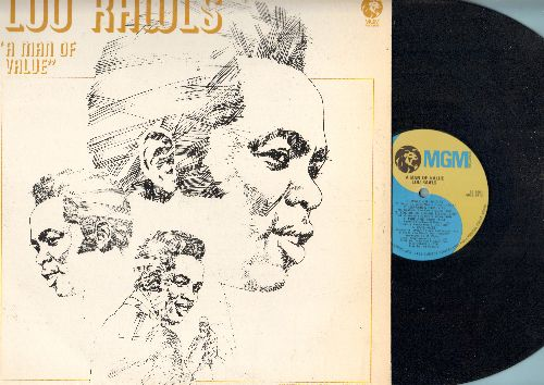 Rawls, Lou - A Man Of Value: The Politician, Walk On In, Fire And Rain, Learning Cup, Evil (Vinyl STEREO LP record) - NM9/EX8 - LP Records