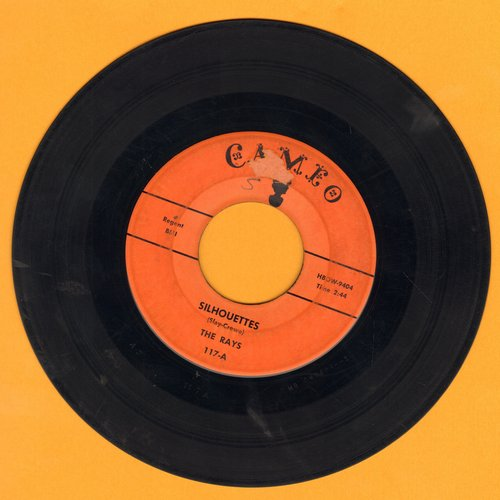 Rays - Silhouettes/Daddy Cool (orange label) - VG7/ - 45 rpm Records