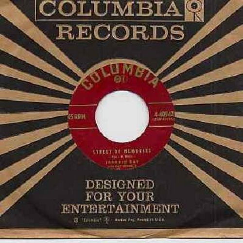 Ray, Johnnie - Build Your Love (On A Strong Foundation)/Street Of Memories (with Columbia company sleeve) - EX8/ - 45 rpm Records