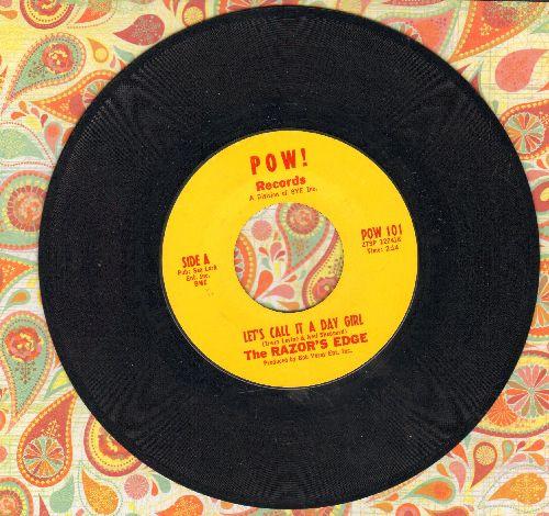 Razor's Edge - Let's Call It A Day Girl/Avril (April) (minor wol) - VG7/ - 45 rpm Records