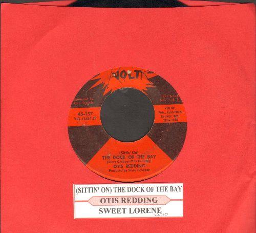 Redding, Otis - (Sittin' On) The Dock Of The Bay/Sweet Lorene (with juke box label) - EX8/ - 45 rpm Records