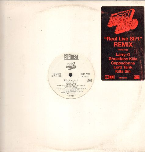 Real Live - Real Live Sh*t - 12 inch vinlyl Maxi Single with 4 Extended Tracks - NM9/ - Maxi Singles