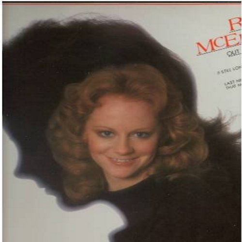 McEntire, Reba - Out Of A Dream: Sweet Dreams, I'm A Woman, It's Gotta Be Love, Runaway Heart, Now And Then (Vinyl STEREO LP record) - NM9/NM9 - LP Records