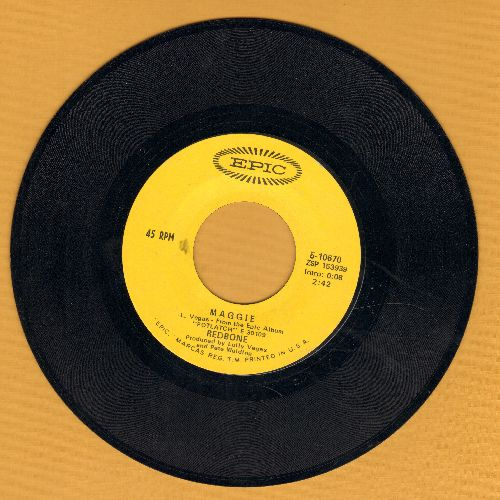 Redbone - Maggie/New Blue Sermonette - EX8/ - 45 rpm Records