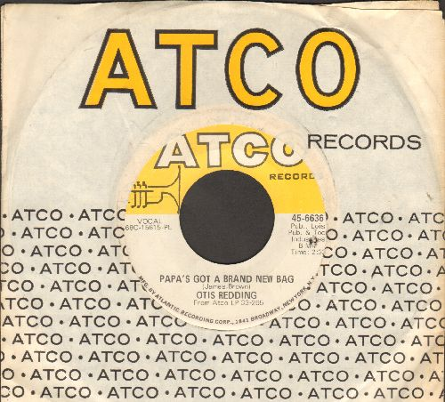 Redding, Otis - Papa's Got A Brand New Bag/Direct Me (with Atco company sleeve)(bb) - EX8/ - 45 rpm Records