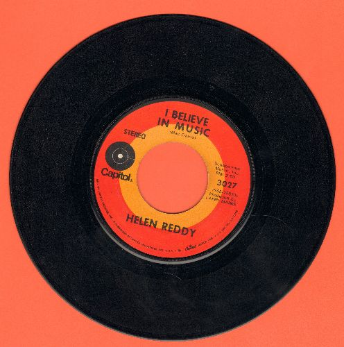 Reddy, Helen - I Believe In Music/I Don't Know How To Love Him - VG7/ - 45 rpm Records