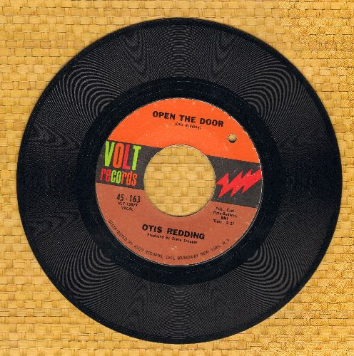 Redding, Otis - Open The Door/The Happy Song (Dum Dum)/Open The Door (bb) - NM9/ - 45 rpm Records