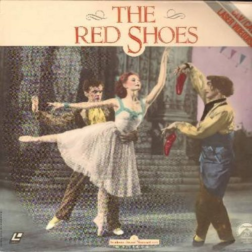 Red Shoes - The Red Shoes - The 1948 Classic starring Moira Sgearer, Anton Walbrook and Marius Goring - This is a set of 2 LASERDISCS, NOT ANY OTHER KIND OF MEDIA! - NM9/EX8 - LaserDiscs