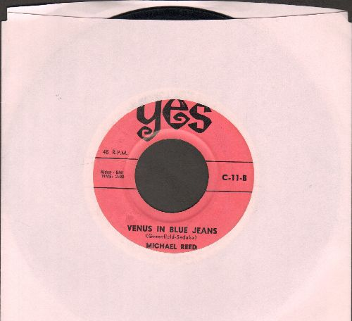 Reed, Michael - Venus In Blue Jeans/Close To Cathy (by Bill Baron on flip-side) - EX8/ - 45 rpm Records