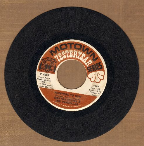 Martha & The Vandellas - Nowhere To Run/My Baby Loves Me (double-hit re-issue) - VG7/ - 45 rpm Records