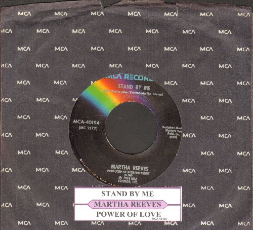 Reeves, Martha - Stand By Me/Power Of Love (with juke box label and MCA company sleeve) - NM9/ - 45 rpm Records