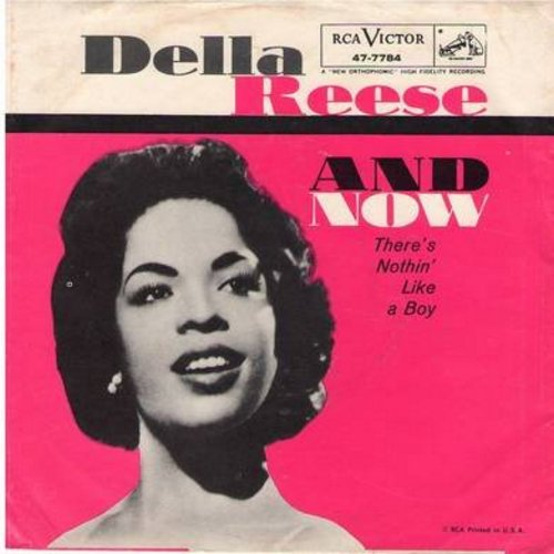 Reese, Della - And Now/There's Nothin' Like A Boy (with picture sleeve) - NM9/EX8 - 45 rpm Records