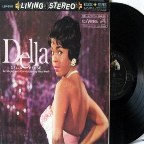 Reese, Della - Della: The Lady Is A Tramp, Goody Goody, Blue Skies, I'll Get By (Vinyl STEREO LP record) - EX8/VG7 - LP Records