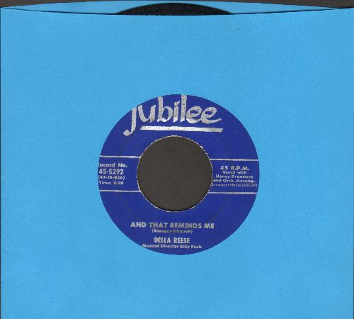 Reese, Della - And That Reminds Me/I Cried For You  - EX8/ - 45 rpm Records