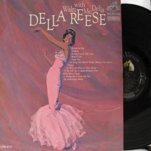 Reese, Della - Waltz With Me, Della: Song From Moulin Rouge, Wonderful One, Always, Fly Me To The Moon, The Anniversary Waltz (Vinyl MONO LP record, Dynagroove pressing) - NM9/NM9 - LP Records