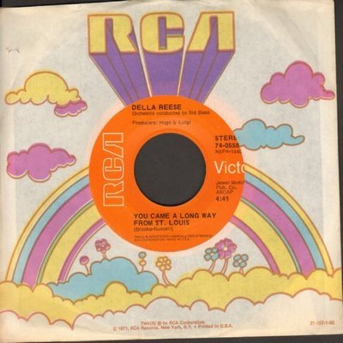 Reese, Della - You Came A Long Way From St. Louis/Nobody's Sweetheart - NM9/ - 45 rpm Records