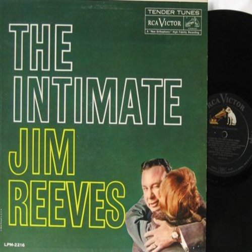 Reeves, Jim - The Intimate Jim Reeves: Room Full Of Roses, Take Me In Your Arms And Hold Me, Dark Moon, Almost (Vinyl MONO LP record, NICE condition!) - NM9/NM9 - LP Records