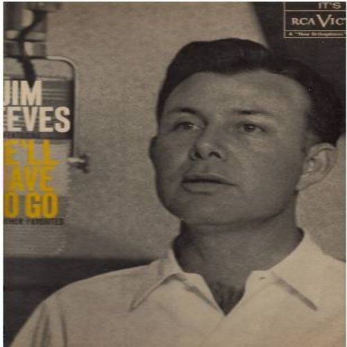 Reeves, Jim - He'll Have To Go: Billy Bayou, Bimbo, Partners, If Heartache Is The Fashion (Vinyl MONO LP record, 1960 first pressing) - EX8/EX8 - LP Records