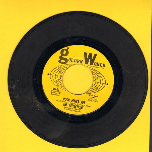 Reflections - Poor Man's Son/Comin' At You - VG7/ - 45 rpm Records