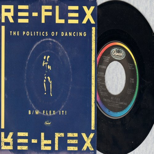 Re-Flex - The Politics Of Dancing/Glex It! (with picture sleeve) - M10/VG7 - 45 rpm Records