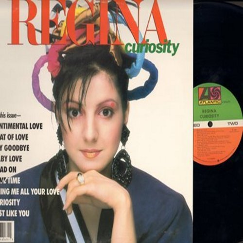 Regina - Curiosity: Baby Love, Sentimental Love, Beat Of Love, Head On (Vinyl STEREO LP record) - M10/NM9 - LP Records