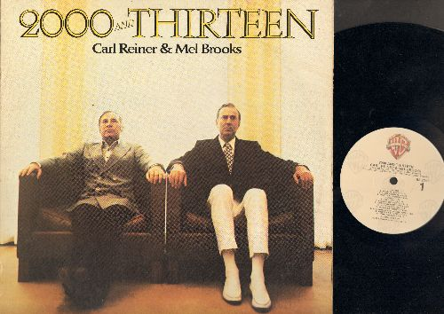 Reiner, Carl & Mel Brooks - 2000 And Thirteen - More Hilarious Comedy with the two Masters (Vinyl LP record) - NM9/VG6 - LP Records