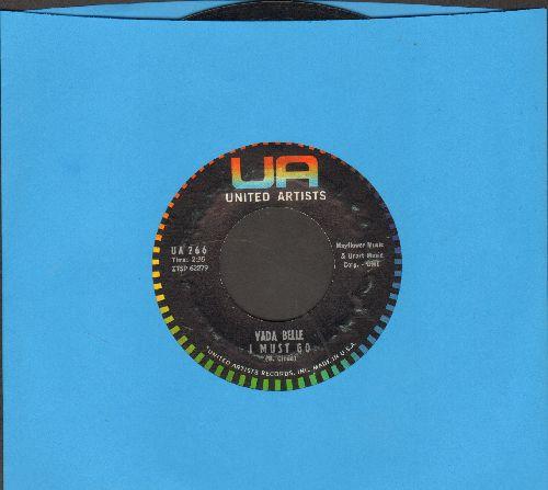 Belle, Vada - I Must Go/I'm A Fool To care - EX8/ - 45 rpm Records