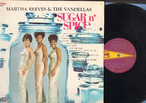 Martha & The Vandellas - Sugar N' Spice: Taking My Love (And Leaving Me), What Now My Love, You're The Loser Now, Heartless, Soul Appeal (Vinyl STEREO LP record) - NM9/EX8 - LP Records