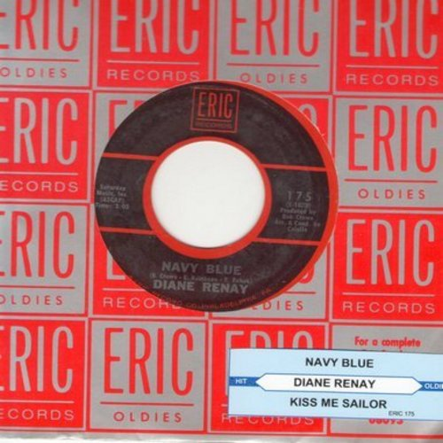 Renay, Diane - Navy Blue/Kiss Me Sailor (double-hit re-issue with juke box label) - NM9/ - 45 rpm Records