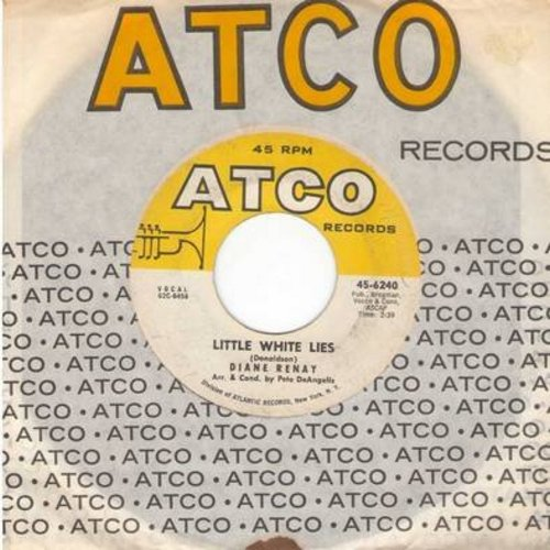 Renay, Diane - Little White Lies/Falling Star (with Atco company sleeve) - VG6/ - 45 rpm Records