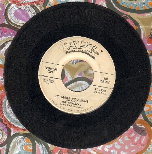 Redjacks - Too Make You Mine/Big Brown Eyes (DJ advance pressing) - VG6/ - 45 rpm Records