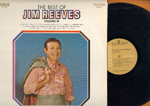 Reeves, Jim - The Best Of Vol. 3: A Fallen Star, Distant Drums, Missing Angel, Pride Goes Before The fall (vinyl STEREO LP record) - NM9/NM9 - LP Records