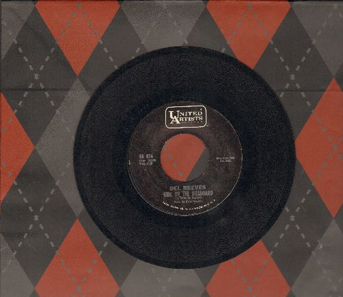 Reeves, Del - Girl On The Billboard/Eyes Don't Come Crying To Me - EX8/ - 45 rpm Records