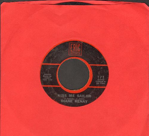 Renay, Diane - Navy Blue/Kiss Me Sailor (double-hit re-issue) (sol) - VG7/ - 45 rpm Records