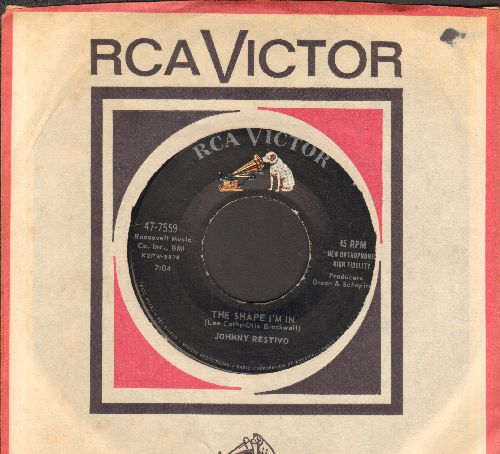 Restivo, Johnny - The Shape I'm In/Ya Ya (with RCA company sleeve) - EX8/ - 45 rpm Records