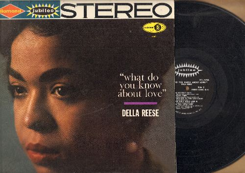 Reese, Della - What Do You Know About Love?: When I Fall In Love, I Got It Bad, I'm Nobody's Baby, I'm Thru With Love (Vinyl STEREO LP record) - EX8/EX8 - LP Records
