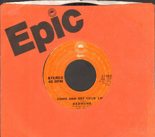 Redbone - Come And Get Your Love/Day To Day Life (with Epic company sleeve) - VG7/ - 45 rpm Records
